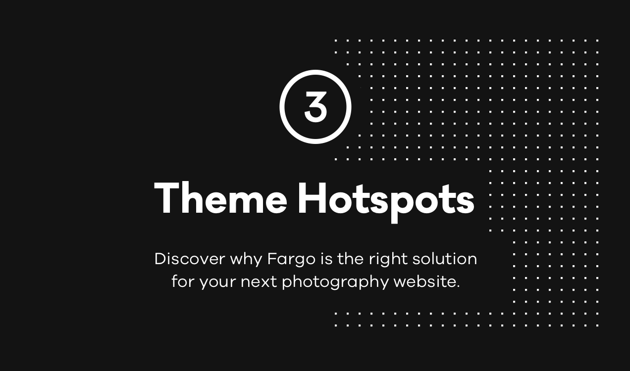 WordPress theme Fargo – A Charming Photography WordPress Theme (Photography)