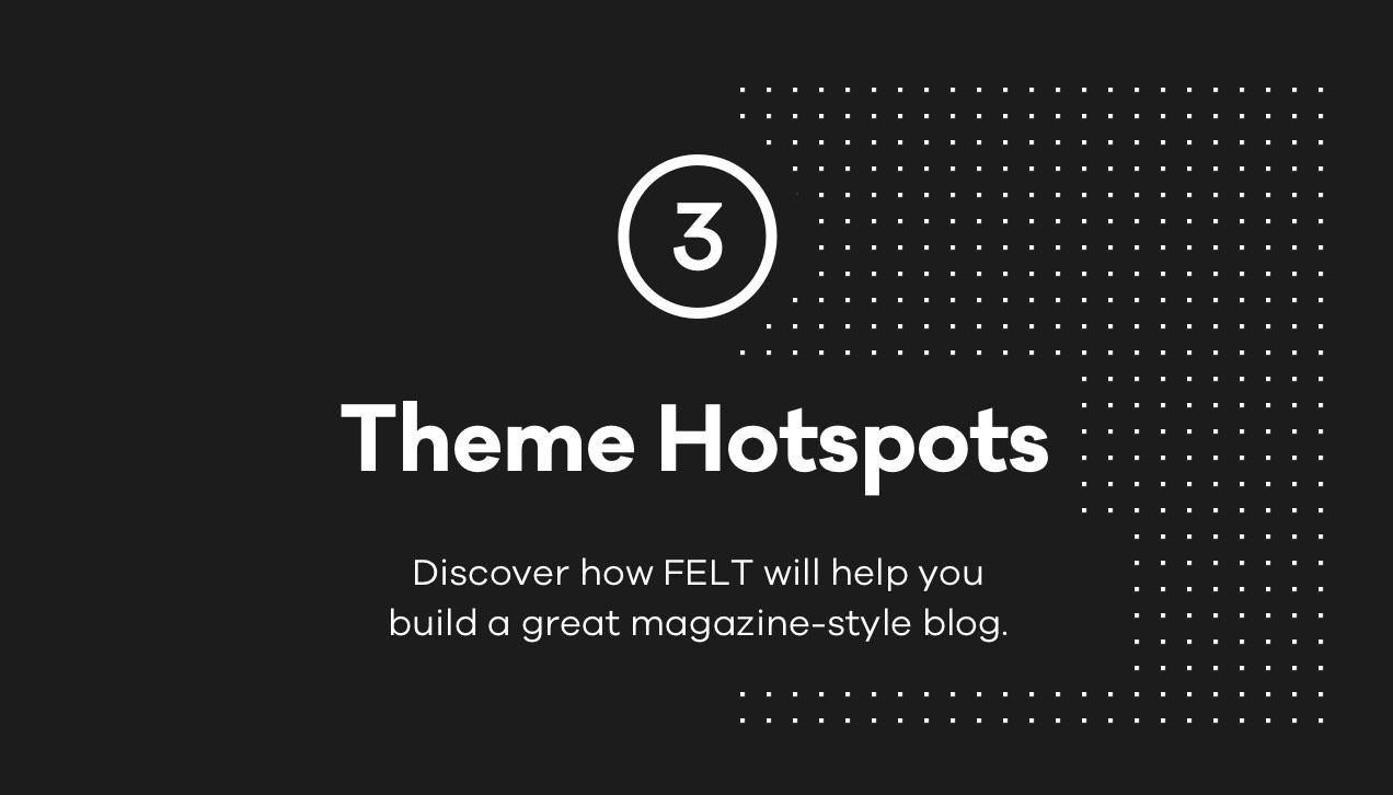 felt Theme Hotspots