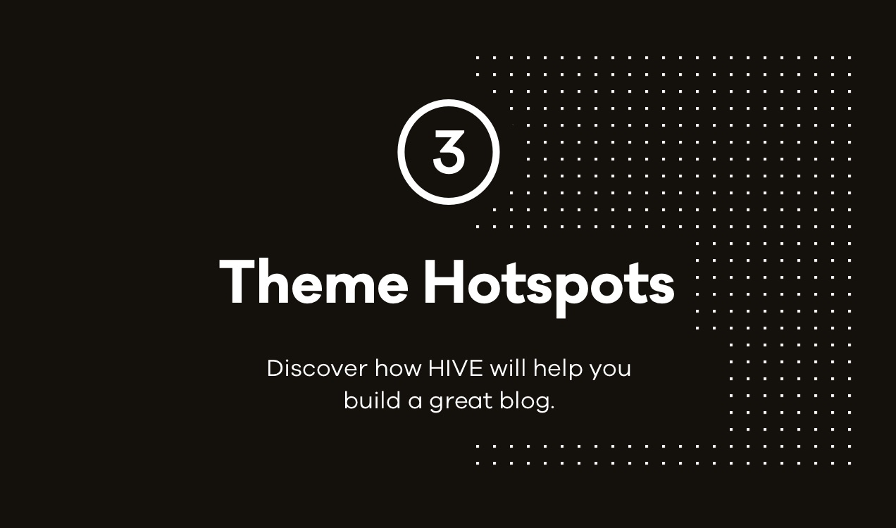 hive Theme Hotspots