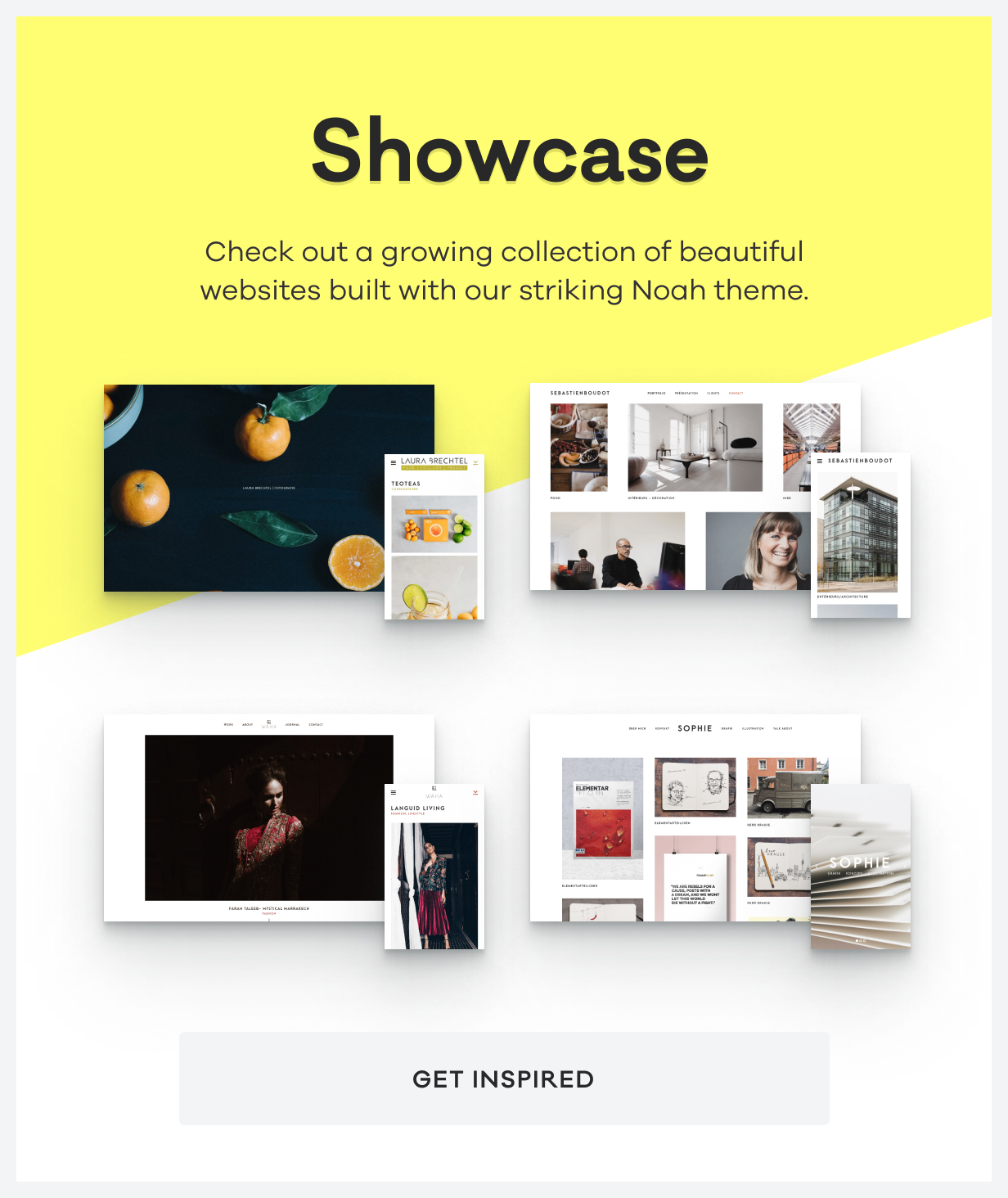 NOAH - A Witty Photography WordPress Theme - 7