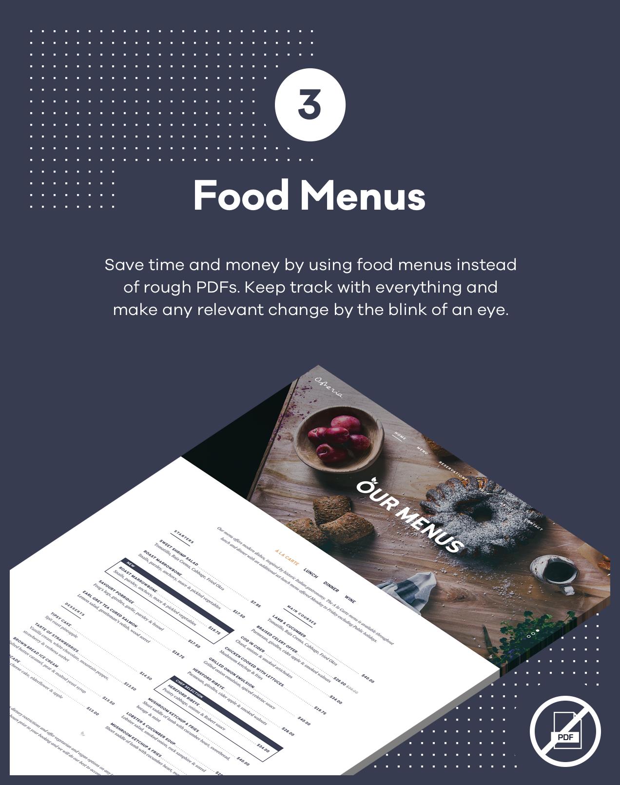 Osteria - An Engaging Restaurant WordPress Theme - 4