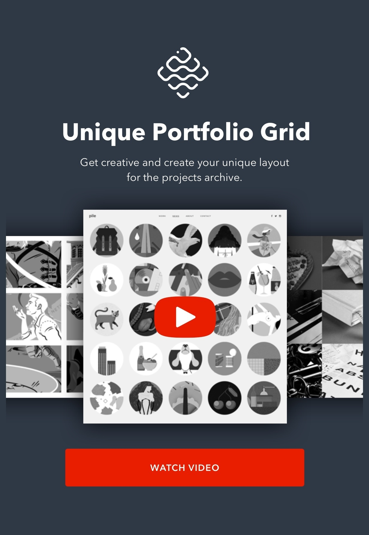 PILE v2.2.2 – An Uncoventional WordPress Portfolio Theme 6 » NWScripts