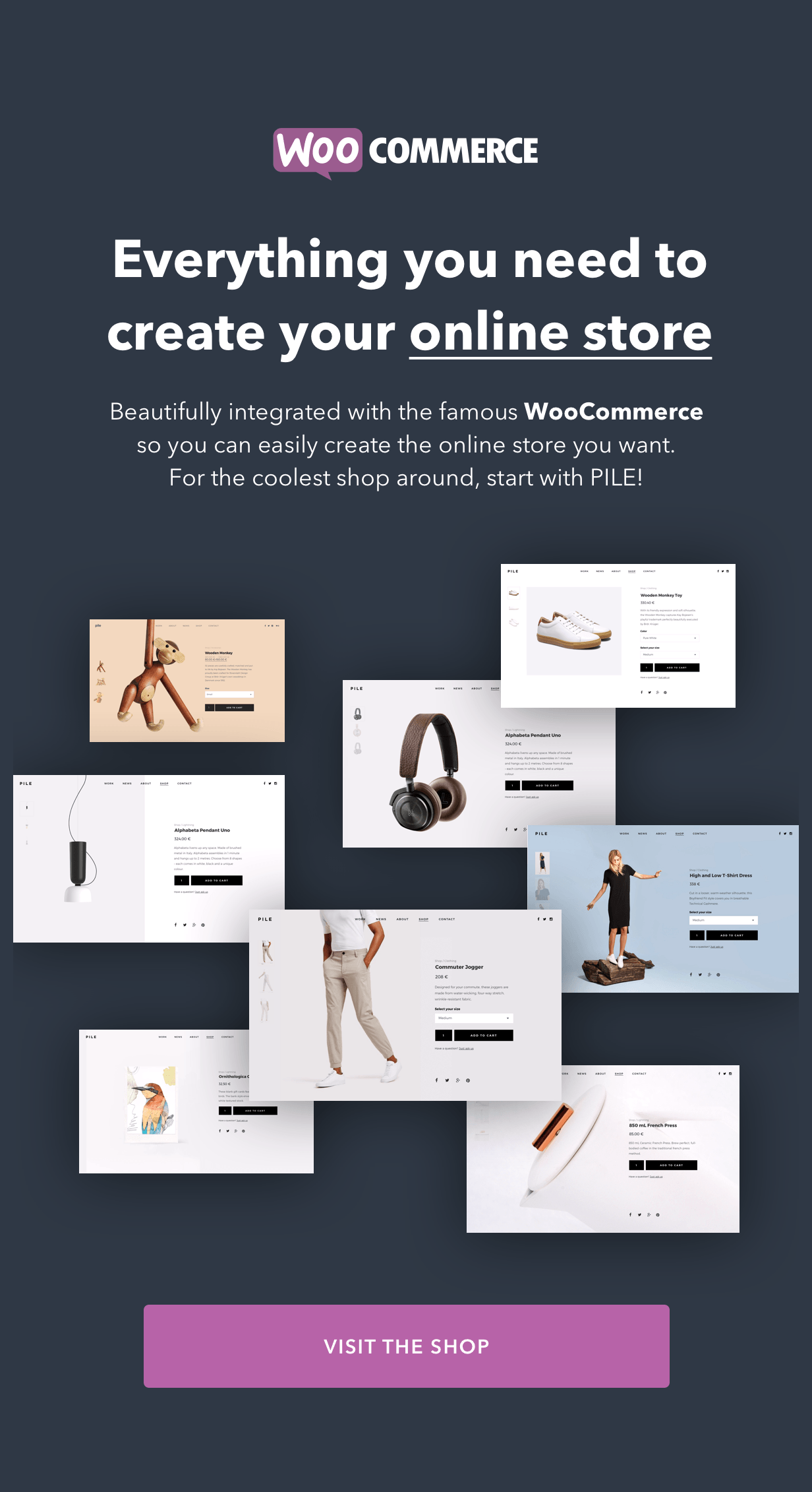 PILE - An Uncoventional WordPress Portfolio Theme - 5