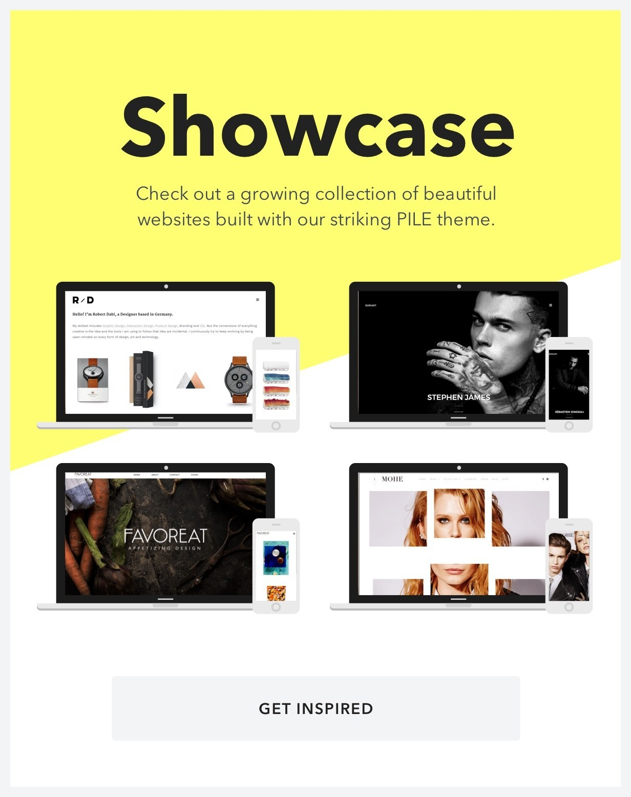 PILE - An Uncoventional WordPress Portfolio Theme - 11