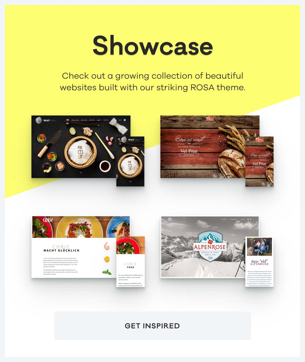 ROSA - An Exquisite Restaurant WordPress Theme - 11