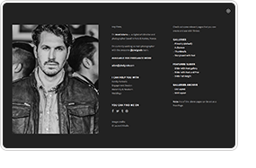 TIMBER – An Unusual Photography WordPress Theme