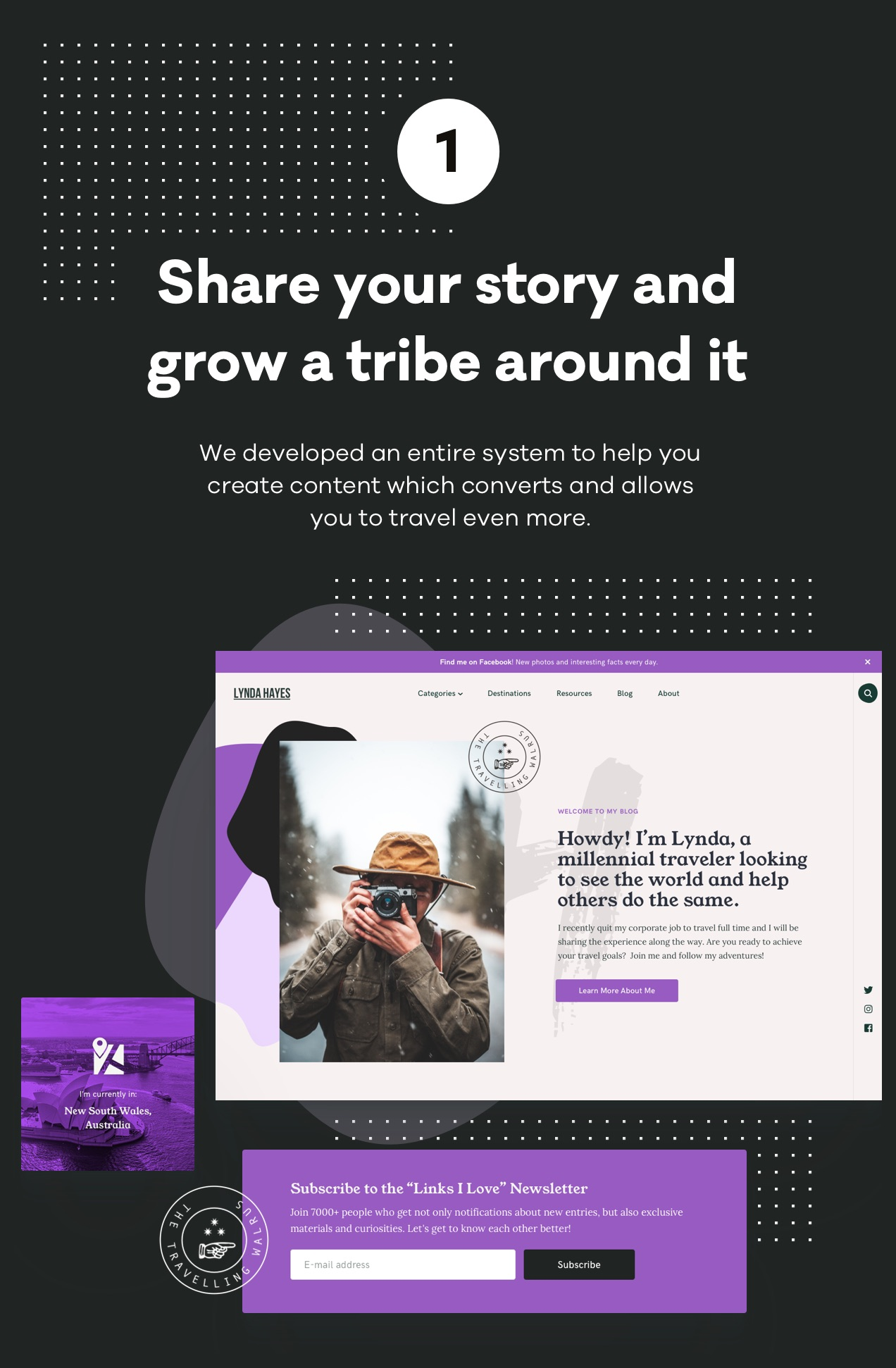 Share your story and grow a tribe around it