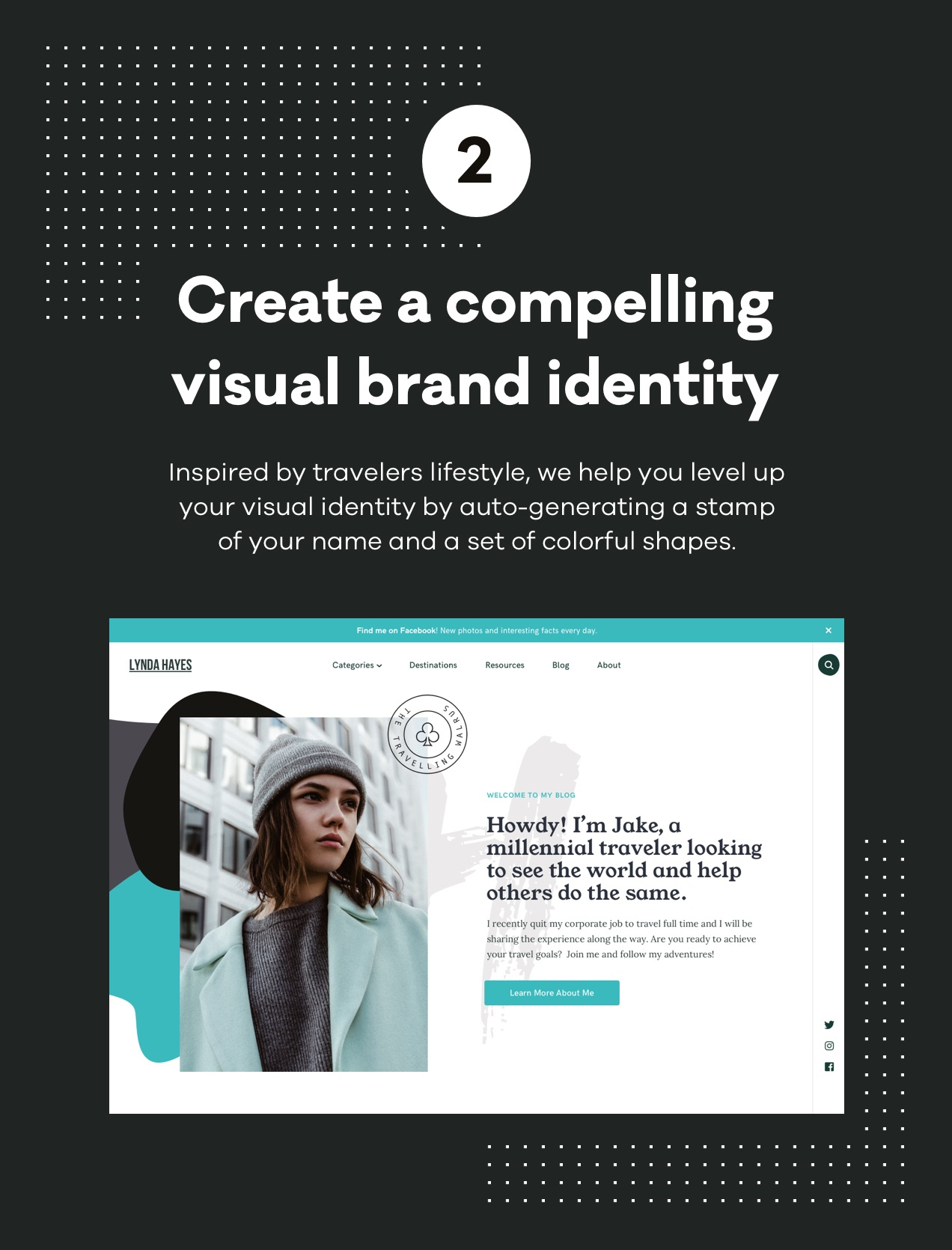 Create a compelling visual brand identity