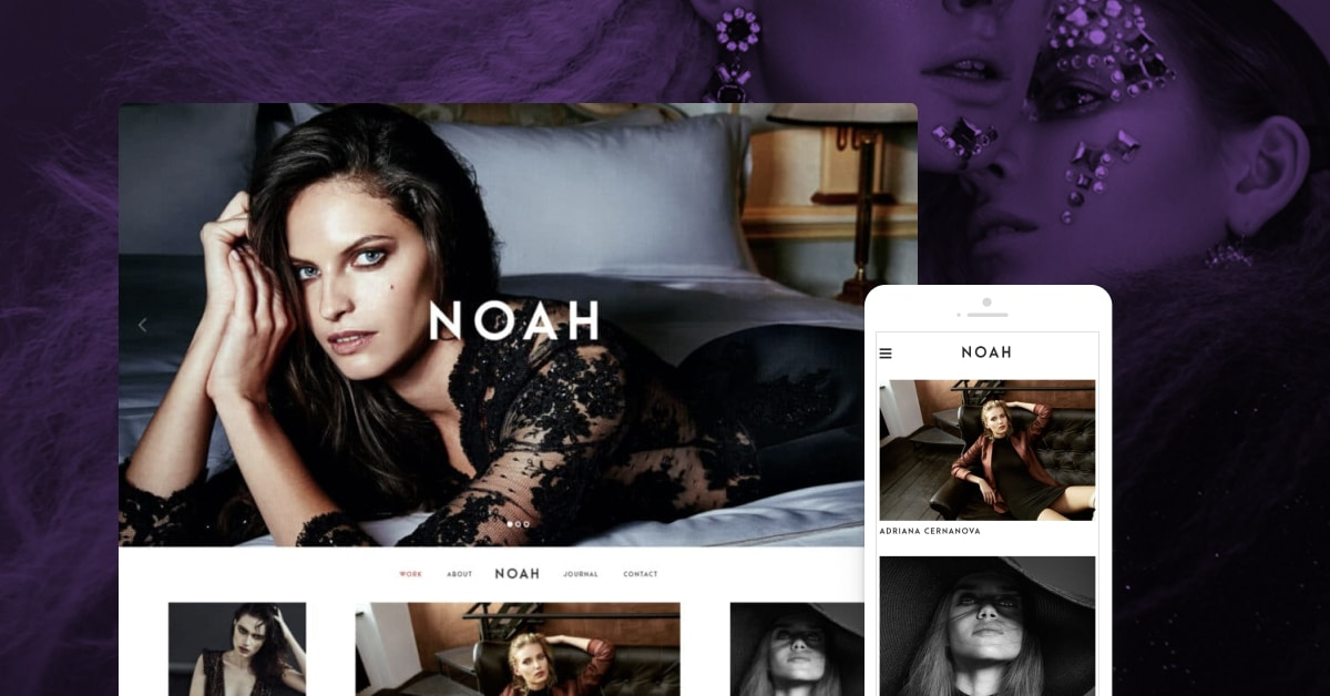 Noah - WordPress Theme for Photographers by Pixelgrad