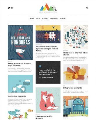 Heap is a simple blogging WordPress theme