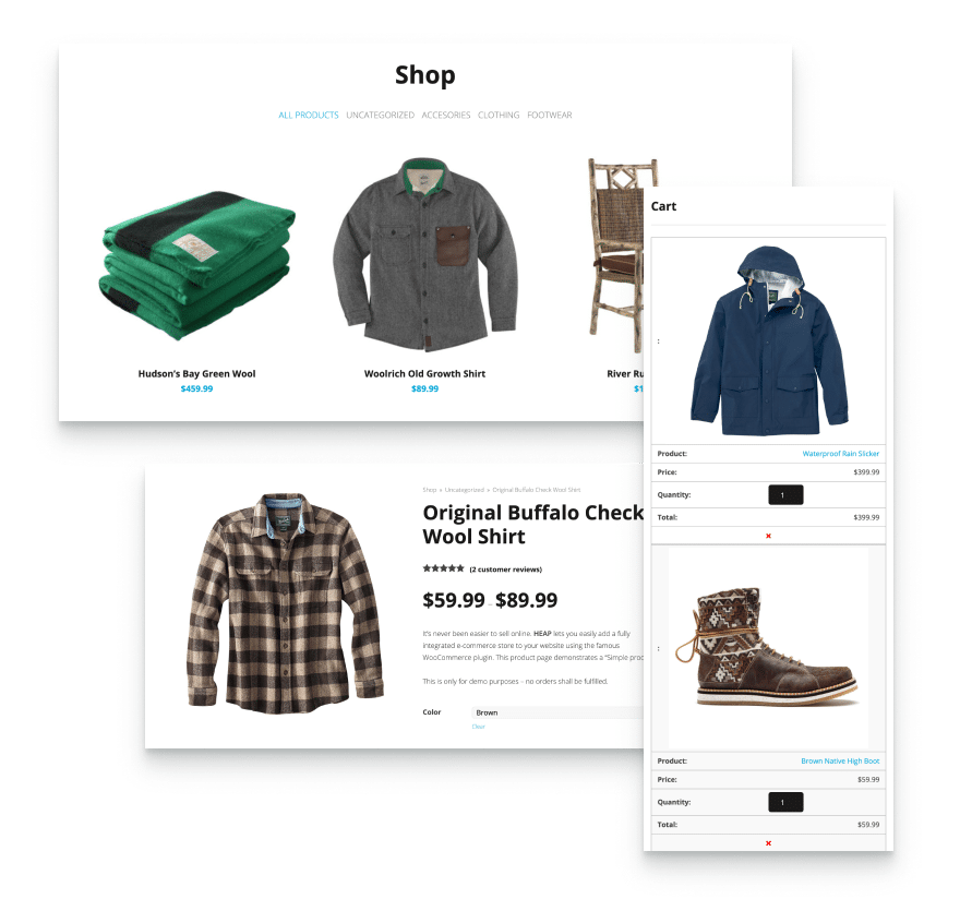 woocommerce integration to sell online fast