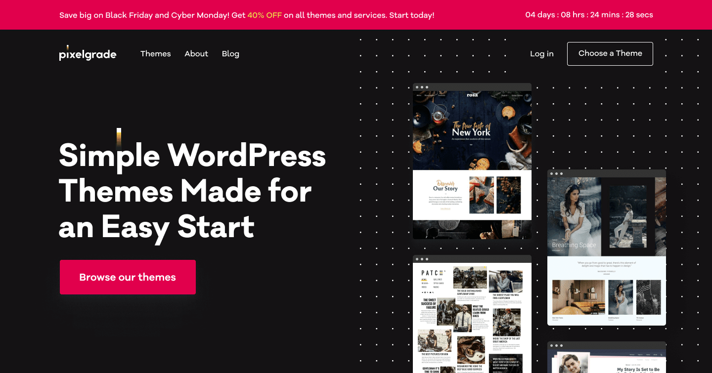 Pixelgrade - Simple WordPress Themes Made for an Easy Start