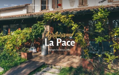 Agriturismo La Pace Website created with Rosa 2