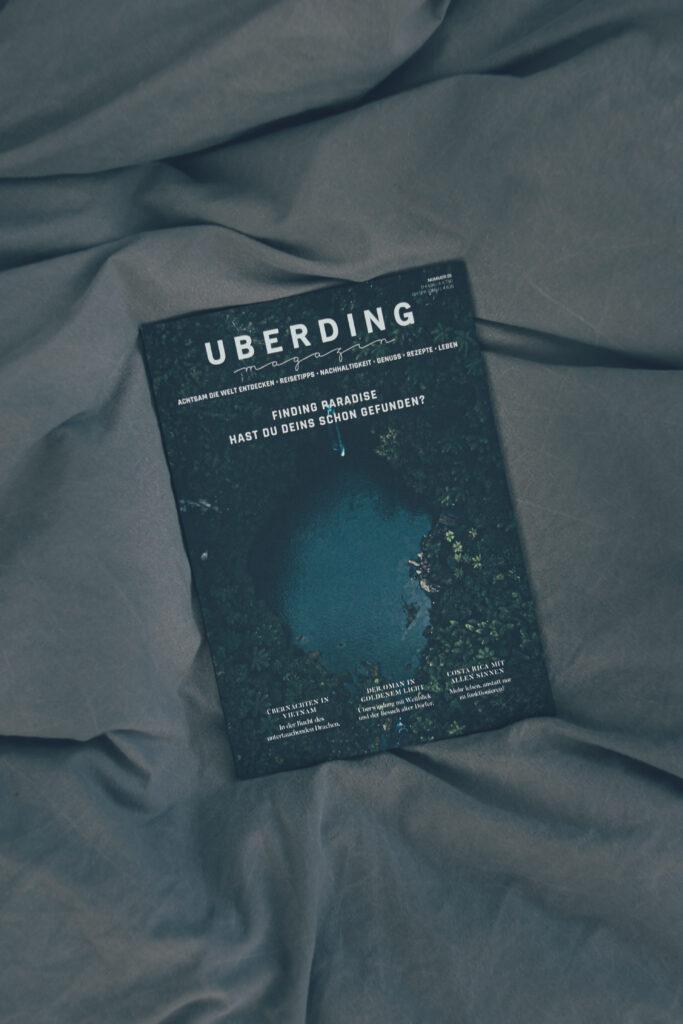 """Uberding's """"Finding Paradise"""" magazine"""