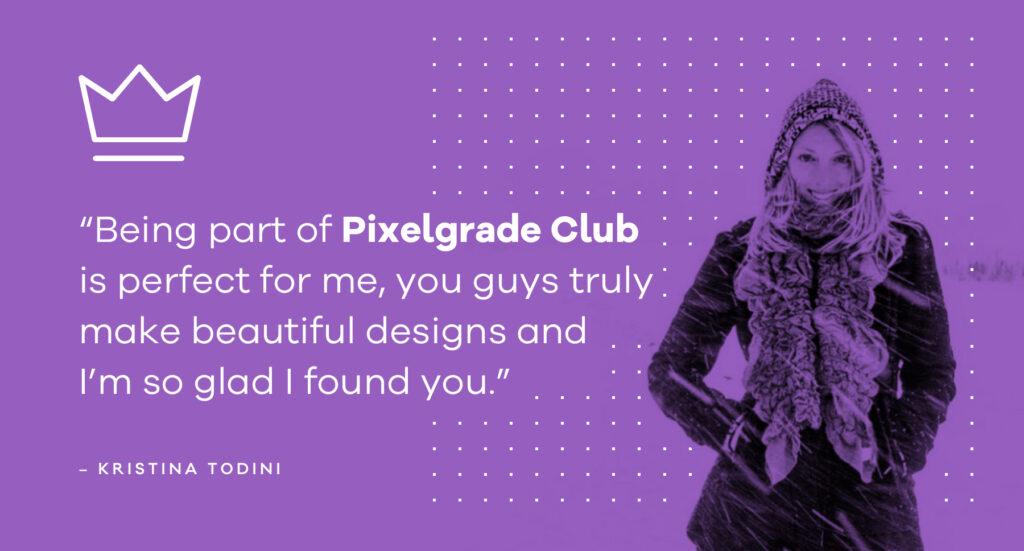 Former Pixelgrade Club customer
