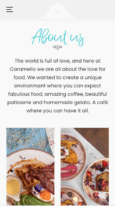 Caramello of Didsbury Mobile - Website created with Rosa 2